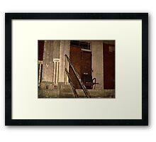 Overbrook Asylum - Who Is This Chair Waiting For? Framed Print