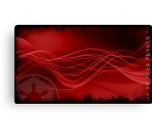 Sith Star Wars Red Space Canvas Print