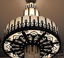 Art Deco - Myer Mural Hall - Chandelier by Anthony O