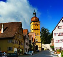 Romantic road Germany - Dinkelsbuhl by RAN Yaari