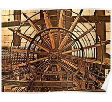 Silk Industry Spinning Machine Poster