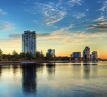 Southport Sunrise by nixworries