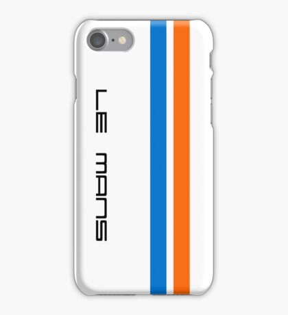 Le Mans Classic Case II iPhone Case/Skin