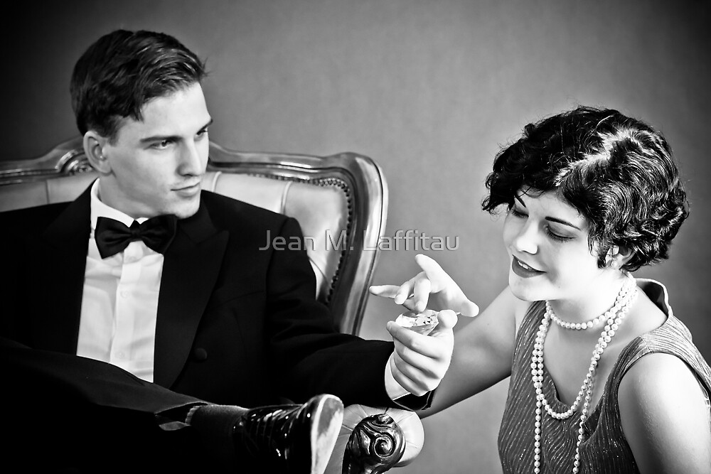 Diamonds make the world go round by Jean M. Laffitau