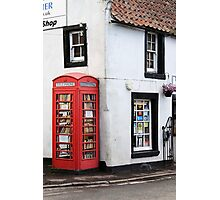 Book Lovers, Milnathort, Scotland Photographic Print