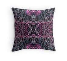 Spiky and Pink Throw Pillow