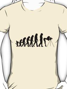 Female Photographer Evolution T-Shirt / Pillow / Tote Bag / iPad Case T-Shirt
