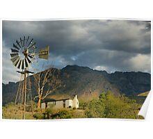 farm cottage Poster