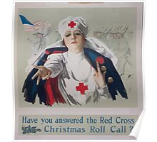 Have you answered the Red Cross Christmas roll call Poster