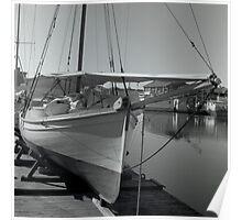 Wooden Boat Hobart, Tasmania Poster