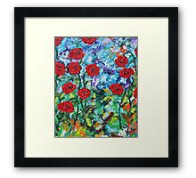 Wild Flowers Framed Print