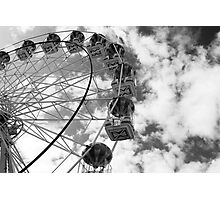 Big Wheel, Aberdeen, Scotland Photographic Print