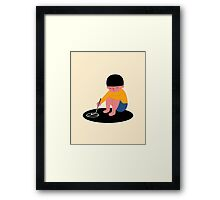 Peace Please Framed Print