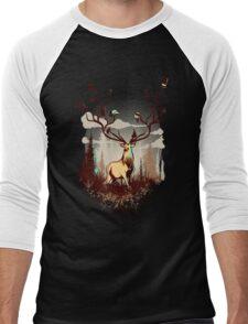A Rustic Hat Rack Men's Baseball ¾ T-Shirt