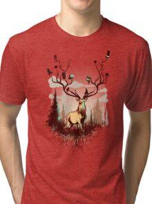 A Rustic Hat Rack Tri-blend T-Shirt