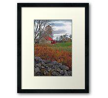 Little Red House, Muir of Dinnet, Aberdeenshire Framed Print