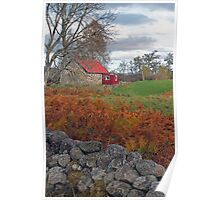 Little Red House, Muir of Dinnet, Aberdeenshire Poster