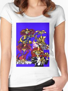 JAZZ COMBO Women's Fitted Scoop T-Shirt