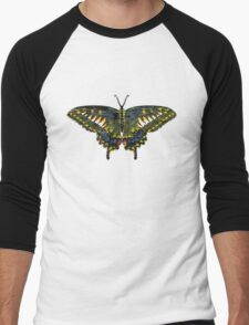 Butterfly Art Men's Baseball ¾ T-Shirt
