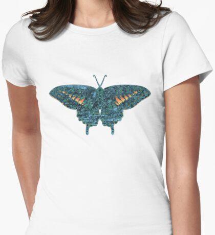 Butterfly Art 2 Womens Fitted T-Shirt