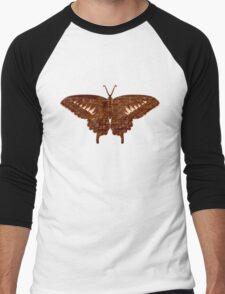Butterfly Art 3 Men's Baseball ¾ T-Shirt