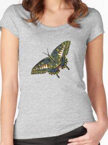 Butterfly Art 4 Women's Fitted Scoop T-Shirt