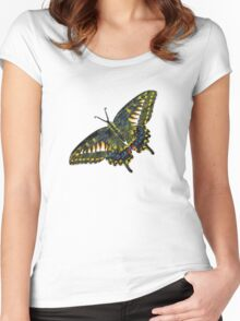 Butterfly Art 4 Women's Fitted Scoop T-Shirt