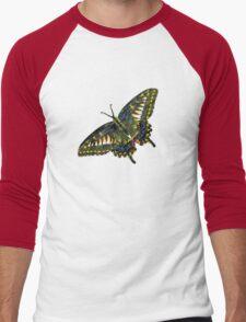 Butterfly Art 4 Men's Baseball ¾ T-Shirt
