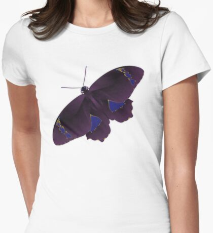 Butterfly Art 7 Womens Fitted T-Shirt