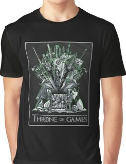Throne of games Graphic T-Shirt