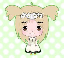 Cute Unicorn Character by PineappleBunny