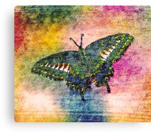 Butterfly Art Canvas Print