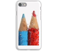Color pencils chill... iPhone Case/Skin