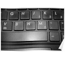 The Keyboard Poster