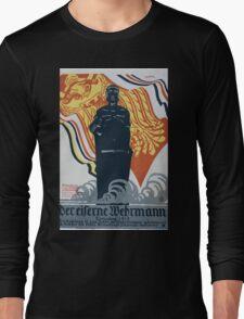 Der eiserner Wehrmann Königsberg 1915 1406 Long Sleeve T-Shirt