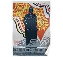 Der eiserner Wehrmann Königsberg 1915 1406 Poster