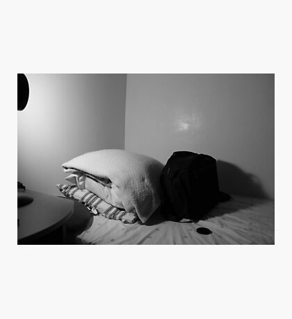 The bed Photographic Print