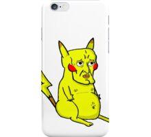 Handsome Pikachu iPhone Case/Skin