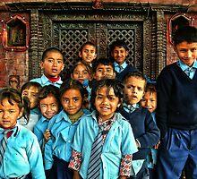 School Shrine Children by V1mage