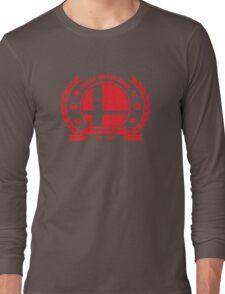 Smash Club (Red) Long Sleeve T-Shirt