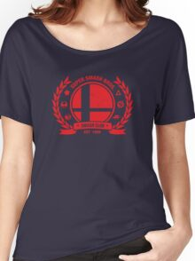 Smash Club (Red) Women's Relaxed Fit T-Shirt