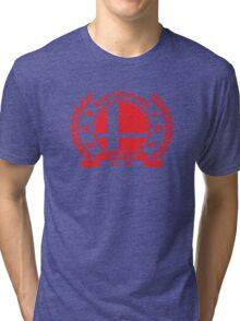 Smash Club (Red) Tri-blend T-Shirt