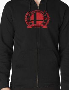 Smash Club (Red) Zipped Hoodie