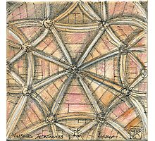 Mosteiro dos Jerónimos. sketch Photographic Print
