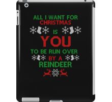 All i want for christmas is - iPad Case/Skin