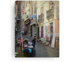 Ruas de Coimbra Metal Print