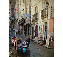 Ruas de Coimbra Photographic Print