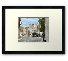 Ruas de Lisboa Framed Print