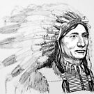 Native American War Bonnet by Woodie