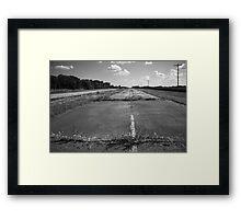 Abandoned Route 66 Framed Print